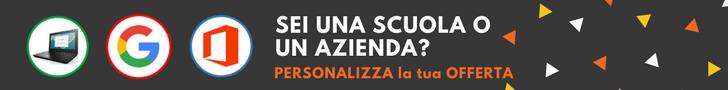 banner offerta personalizzata - grigio